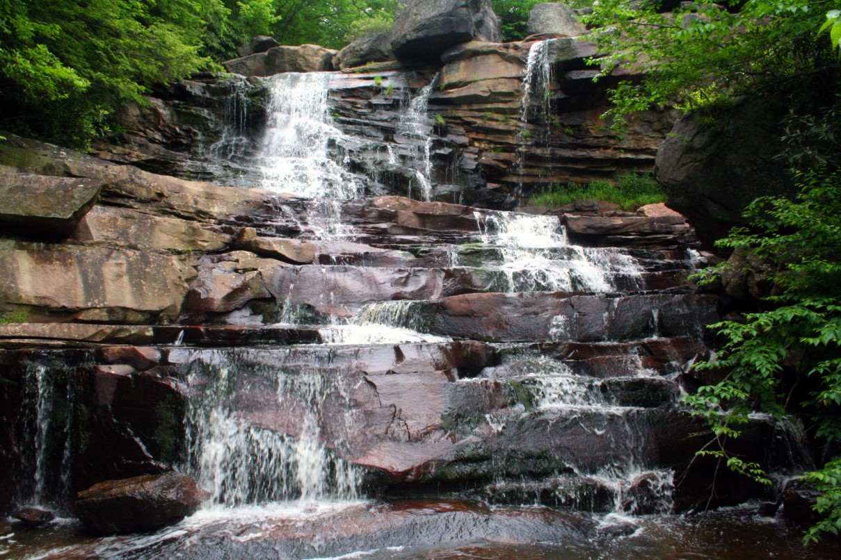 Forest Waterfall Wallpaper Waterfall Pictures & Waterfall Screensavers